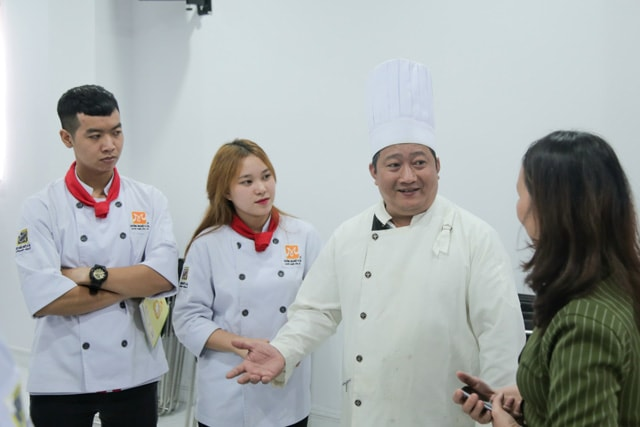Bep truong Vinpearl Phu Quoc