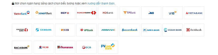 hinh thuc thanh toan bang the online